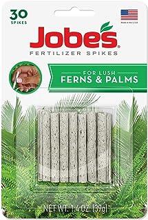 Jobe's 05101 Fern & Palm Fertilizer Spikes, 30 per Blister Pack