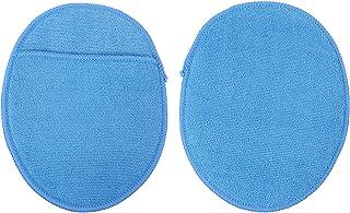 Garneck 2 peças de esponja de polimento de carro de microfibra aplicador de cera de carro almofadas macias de espuma de ce...