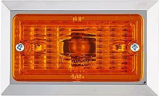 Luz de marcador retangular amarela Grote 47053
