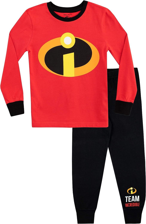High quality Under blast sales new Disney Boys' The Incredibles Pajamas