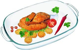 Simax Glassware Simax Heatproof, 3,5L rectangular dish, one size, clear