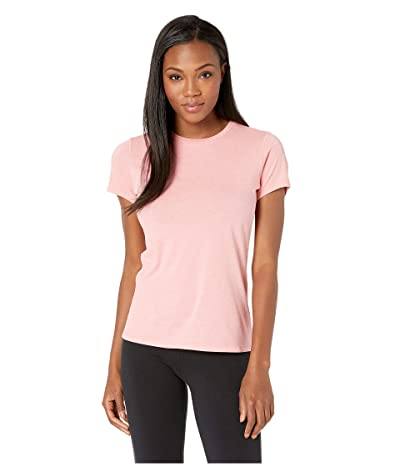 New Balance Heather Tech Tee (Guava Glo Heather) Women