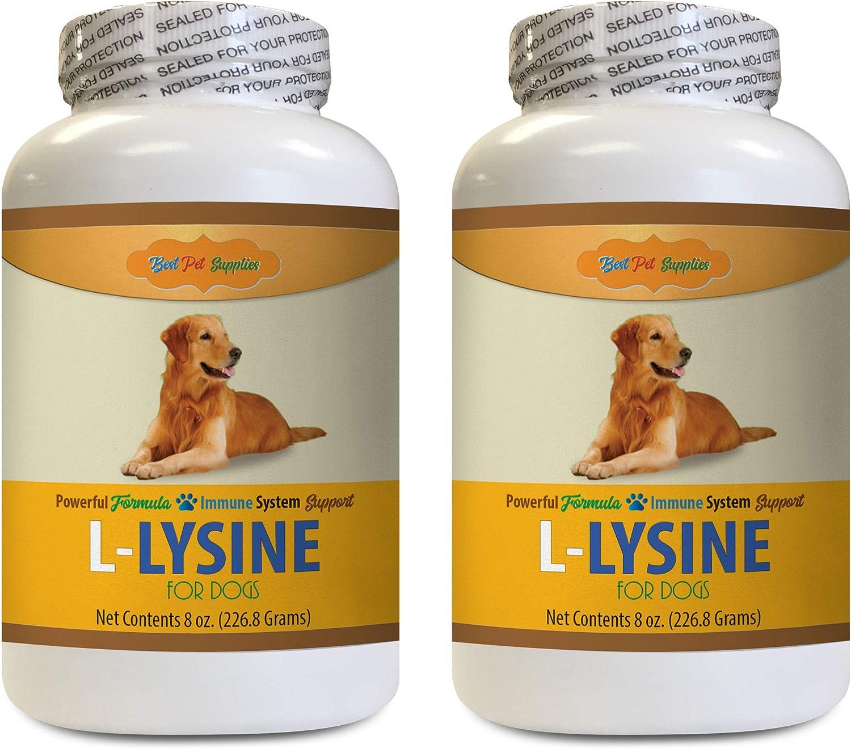 Atlanta Mall BEST PET SUPPLIES LLC Dog Max 57% OFF Respiratory Dogs - LYSINE for Health L