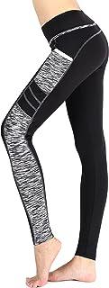 Sugar Pocket Women`s Workout Leggings Running Tights Yoga Pants