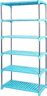 LIVINGBASICS Multifunctional / Multipurpose Storage Shelves / Rack / Stand For Home/ Office / Kitchen/ /Balcony/ Bathroom...
