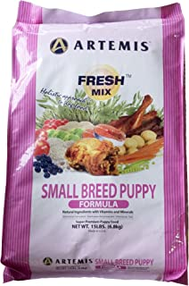 Artemis 133003 Fresh Mix Small Breed Puppy Food, 15-Pound