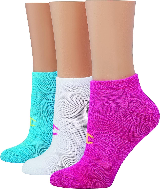 Champion Women's No Show Socks, 3-Pair