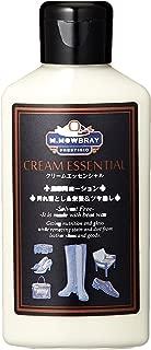[エム・モゥブレィ] スムースレザー用汚れ落とし・保革栄養・ツヤ出し クリーム ローションタイプ クリームエッセンシャル レザーケア シューケア ガラスレザー ブライドルレザー