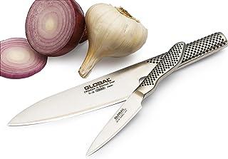 Set 2 cuchillos (G-58, cocinero, 16cm y GS-38, puntilla, 9cm) Global, G-5838
