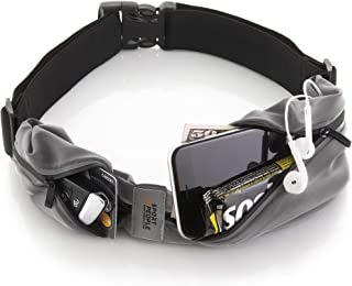 Sport2People Running Belt USA Patented - Fanny Pack for Hands-Free Workout - iPhone X 6 7 8 Plus Buddy Pouch for Runners -...