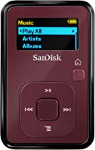 Best sandisk sansa clip+ 4 gb mp3 player red Reviews