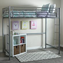 WE Furniture Grey loft bed, 71