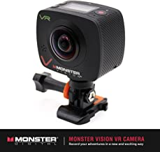 Monster Vision Virtual Reality Camera [VR Goggle, Facebook 360, YouTube 360 Compatible] Includes Dual Lenses and Wireless Uploading [CAMVR-0360-A]