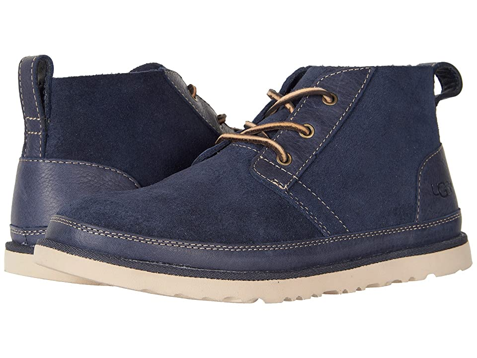 UGG Neumel Unlined Leather (Navy) Men
