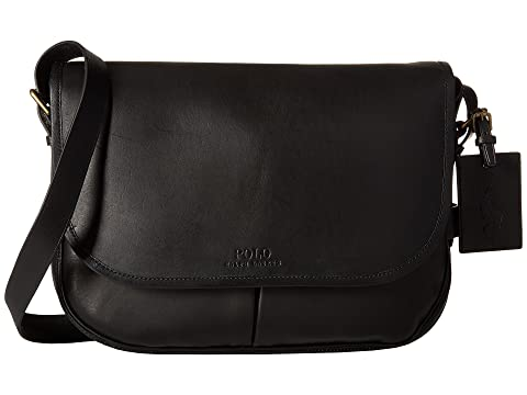 Polo Ralph Lauren Core Leather Messenger at Zappos.com 106e8faade1c6