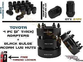 Venum wheel accessories 4pc Black Hub Centric 2001-2018 Tacoma 4Runner 2