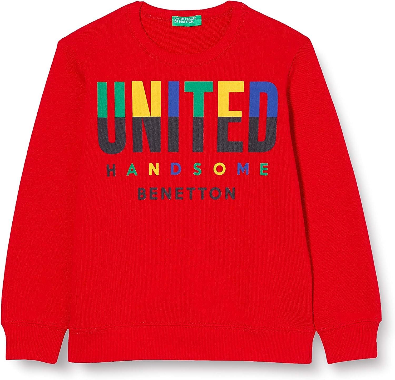 United Colors of Benetton Maglia G//C M//L Sweatshirt /à Capuche Fille Z6ERJ