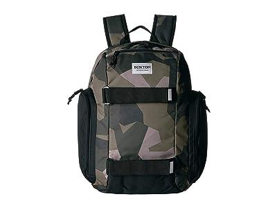 Burton Kids Youth Metalhead Pack (Three Crowns Camo Print) Backpack Bags