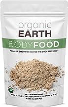Organic Earth Irish Sea Moss Powder (8 Ounces) Super Cell Body Food - Wildcrafted Irish Sea Moss Bladderwrack Plus Burdock...