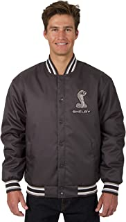 Mens Shelby Cobra Poly-Twill Jacket with Embroidered Emblems