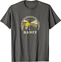 Banff Alberta Canada T Shirt Vintage Hiking Mountains Tee