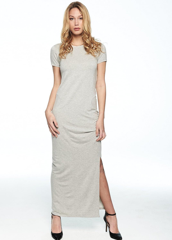 Just Female Women's Goa Dress (Grey Melange)