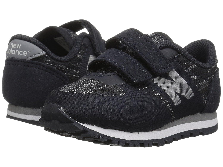 (ニューバランス) New Balance メンズランニングシューズ?スニーカー?靴 KA420v1 (Infant/Toddler) Black/Grey ブラック/グレー 7 Toddler (14.5cm) W