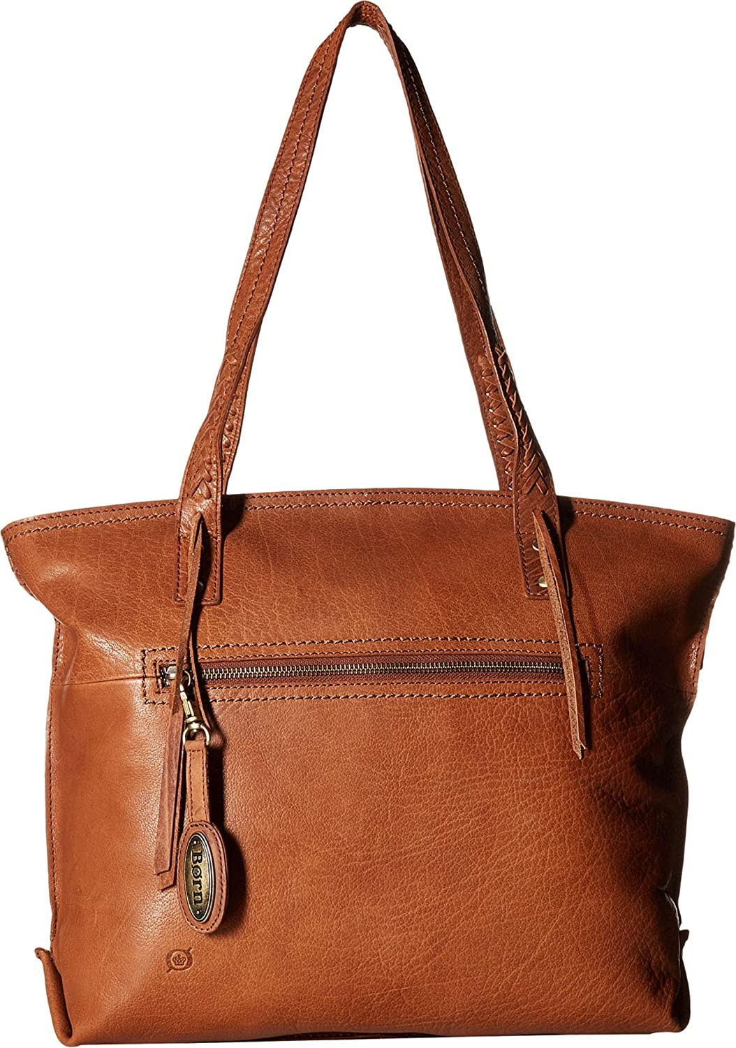 Born Womens Delamar Tote Chestnut One Size
