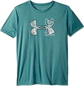 804134882e Under Armour Kids UA American Big Logo Surf Short Sleeve (Toddler ...