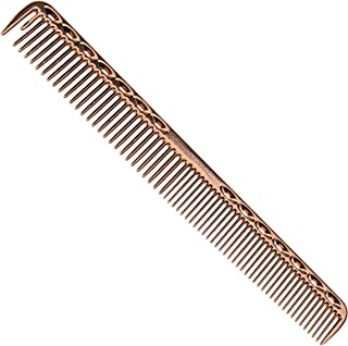 D2D Aluminum Hair Comb Metal Cutting Hairdressing & Barbers Salon Professional Combs Anti-Static Ultra Thin Rose Gold