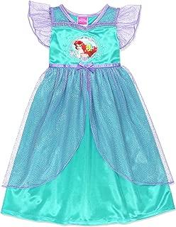 Ariel Girls Fantasy Gown Nightgown Pajamas (Toddler/Little Kid/Big Kid)
