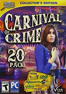Viva Media Mystery Masters: Carnival of Crime Collector's Edition, 20 Pack