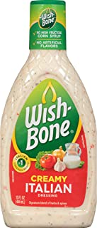 Wish-Bone Salad Dressing, Creamy Italian, 15 Ounce