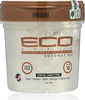 Eco Style Coconut Styling Gel 16 Ounce