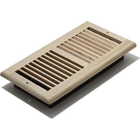 10 Nat Oak Wood Decor Grates Louver Wall /& Ceiling Registers Vents 6x10