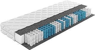 Inter Handels Taschenfederkernmatratze, 100% Polyester, 90x200 cm