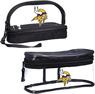 "NFL Minnesota Vikings 2-Piece Travel Set, 10.75"" x 4.5"" x 5.5"""
