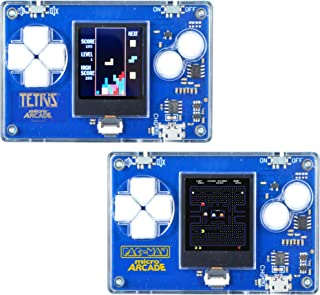Micro Arcade Tetris and Micro Arcade PacMan - Set of 2