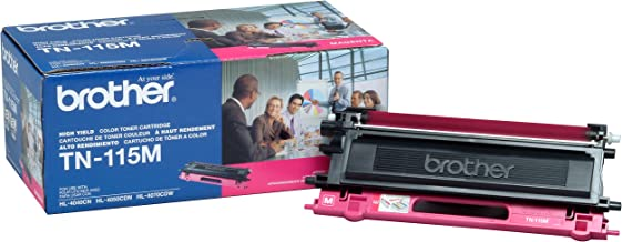 Brother TN-115M DCP-9040 9042 9045 HL-4040 4050 4070 MFC-9440 9450 9840 Toner Cartridge (Magenta) in Retail Packaging