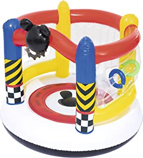 Bestway 91075 - Castillo Hinchable Mickey and the Roadster Racers Boppin