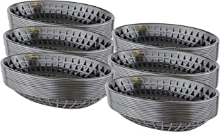 Bear Paw Products - Plastic Food Baskets - Oval Baskets - 72 Pack - Perfect for Fries, Burgers, Sandwiches, and More!