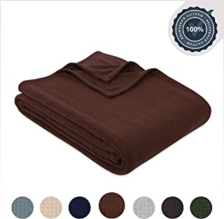 Berkshire Blanket Polartec Performance Fleece Bed Blanket, King, Italian Roast