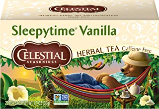 Celestial Seasonings Sleepytime Vanilla Herbal Tea, 20 Count (Pack of 6)