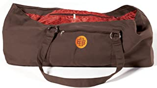 gaiam Banyan and Bo Yoga Tote Bag, Chocolate