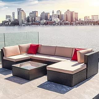l shaped wicker patio furniture
