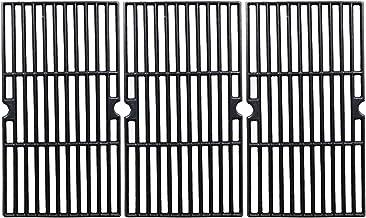 GFTIME Bar.B.Q.S - Rejilla de cocción de Hierro Fundido 68763 para Modelos de Parrilla de Gas seleccionados por Charbroil, Kenmore y Otros, Juego de 3