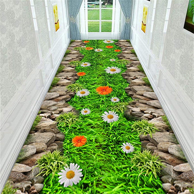 SHENYF-Hua 3D Landscape 1 year warranty Corridor Carpet 70% OFF Outlet Bed Soft Kitchen Flannel