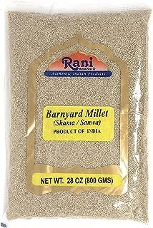 Rani Barnyard Millet (Echinochloa Esculenta Frumantacea) Whole Ancient Grain Seeds 28oz (800g) ~ All Natural   Gluten Free Ingredients   NON-GMO   Vegan   Indian Origin   Shama / Sanwa