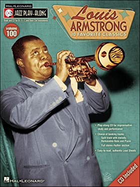 Louis Armstrong - Jazz Play-Along Volume 100 - Book and CD Package