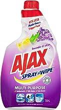 Ajax Spray n' Wipe MultiPurpose Antibacterial Disinfectant Household Cleaner Lavender & Citrus Refill Value Pack Made in A...